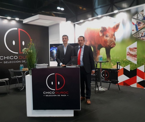 CHICO DUROC EN LA FERIA MEAT ATTRACTION 2019