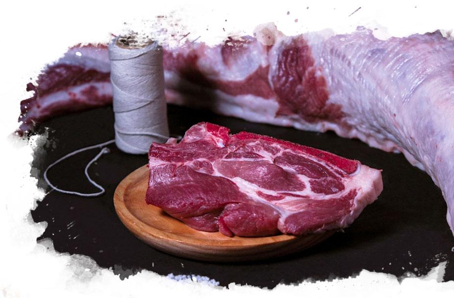 carne fresca cerdo - cerdo Duroc - Chico Duroc