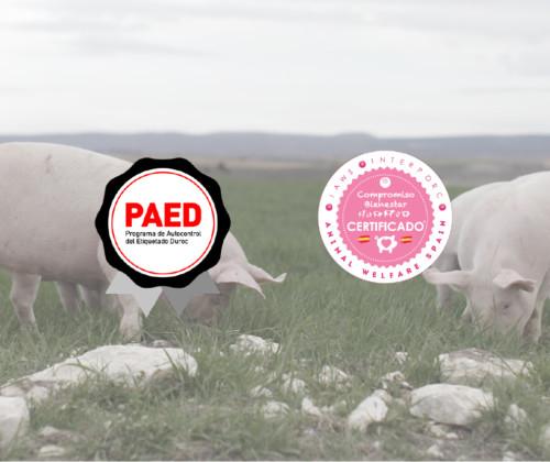 Etiquetado Duroc y Bienestar Animal, certificados de calidad